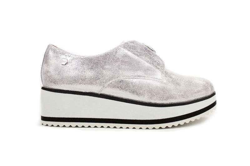SLIP ON DIAMOND ARGENTO