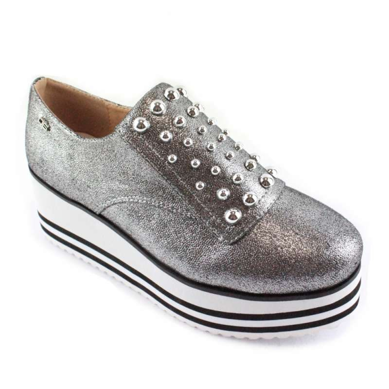 SLIP ON OVIEDO PEWTER